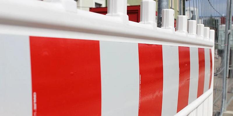 Kanalbaumaßnahme in der Fußgängerzone in Höxter
