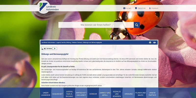 Bildungs- und Betreuungsgipfel: Daten sind online!