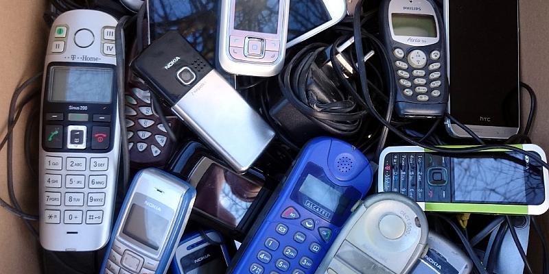 NABU im Weserbergland sammelt ausgediente Handys für den Naturschutz