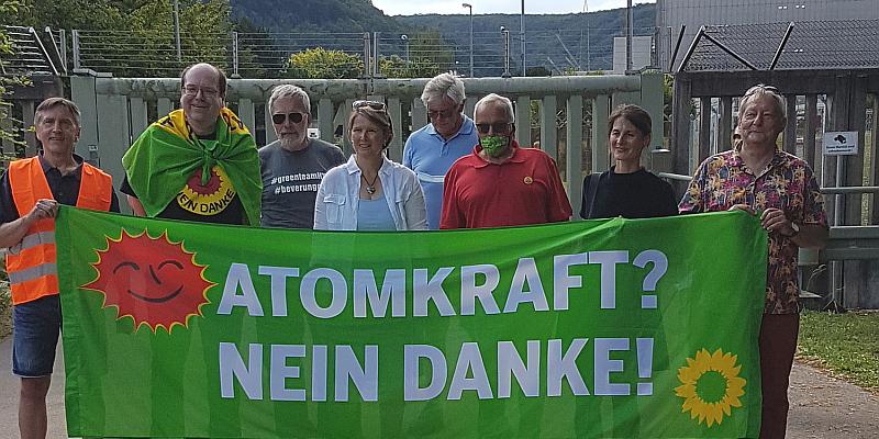 Atommülllager Würgassen wird im Landtag diskutiert