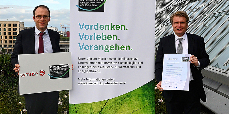 Symrise unterstützt klimapolitische Ziele Deutschlands