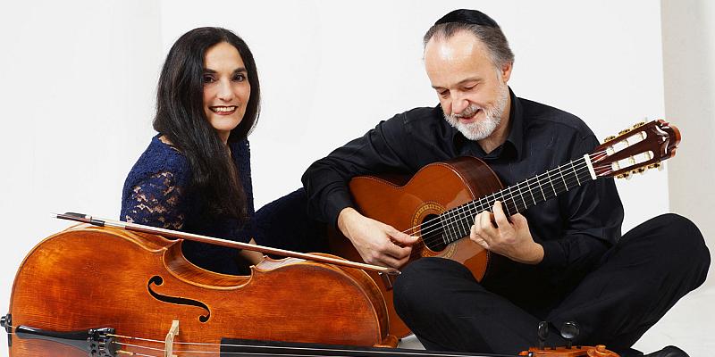 Duo Burstein & Legnani im Museum Schloss Fürstenberg: Klassik und Weltmusik für Cello und Gitarre