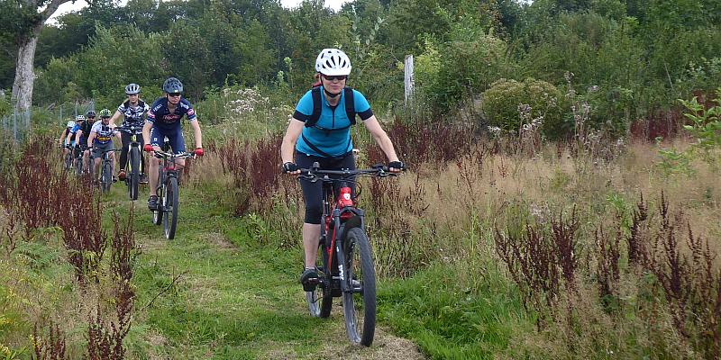 Letzte geführte Mountainbiketour durch den Solling in diesem Jahr
