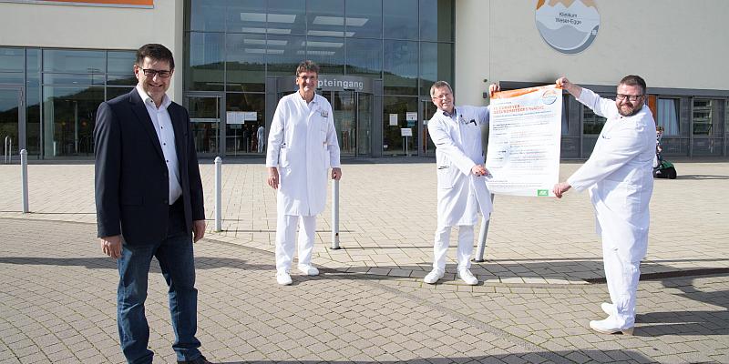 17. Corveyer Gesundheitsgespräche finden wegen Corona-Pandemie im St. Ansgar Krankenhaus Höxter statt