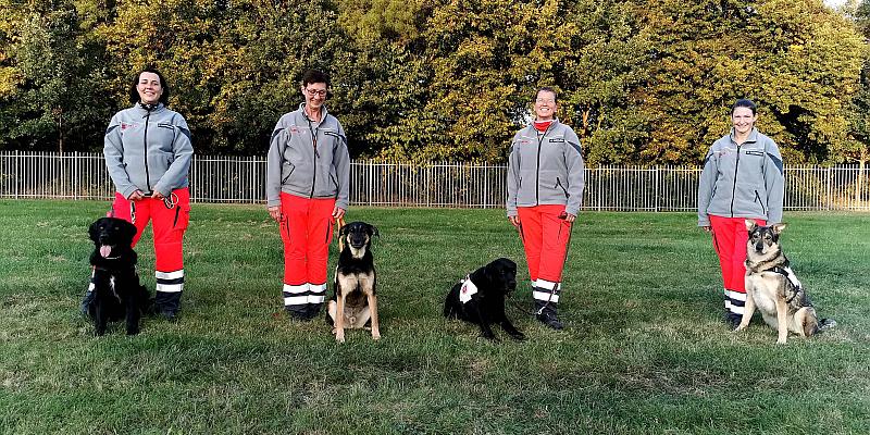 Rettungshundeprüfung in Holzminden