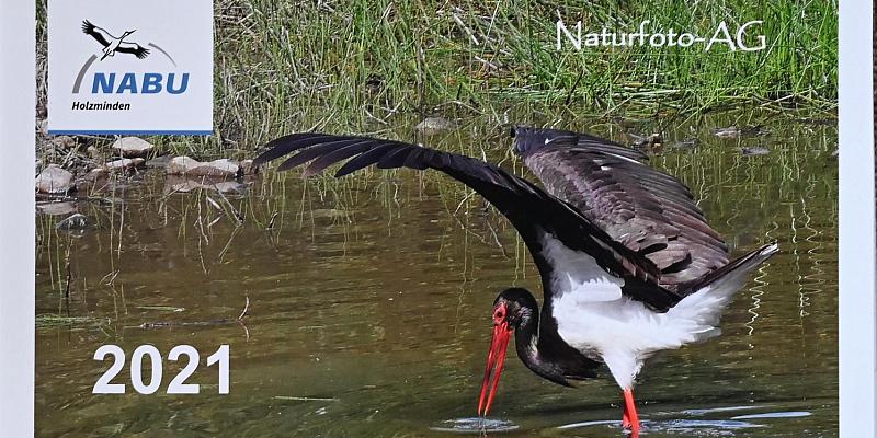 Landkreis Holzminden: NABU-Naturfotokalender 2021 zeigt die Artenvielfalt vor der Haustür