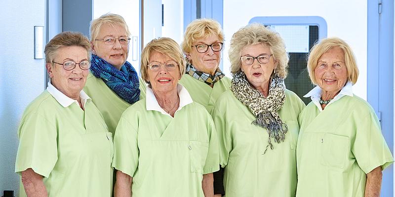 """Agaplesion Holzminden: """"Die Grünen Damen sind ab sofort wieder für Sie da"""""""