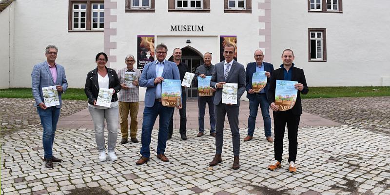 Landesgartenschau informiert im Schlosshof Fürstenberg über aktuelle Planung
