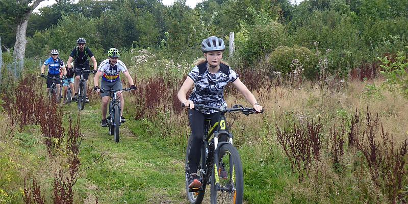 Der Solling hat wieder einen Mountainbikeparcours: Einweihung mit einem Familien-Mountainbiketag am Samstag