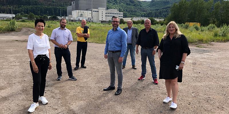 Sabine Tippelt und Johannes Schraps zu Besuch in Lauenförde