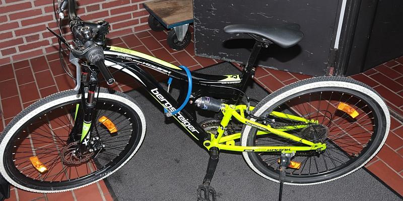 Dieses Fahrrad wurde in Höxter gefunden.