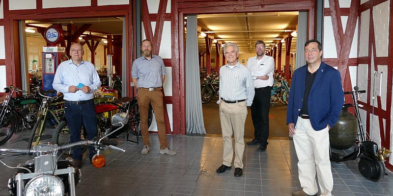 Zweiräder soweit das Auge reicht: Im August 2020 öffnet der PS.SPEICHER in Einbeck das PS.Depot Motorrad