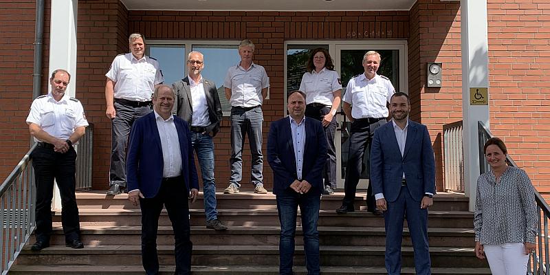 Konstantin Kuhle (FDP) besucht Polizeikommissariat Holzminden: Die Polizei verdient Respekt!