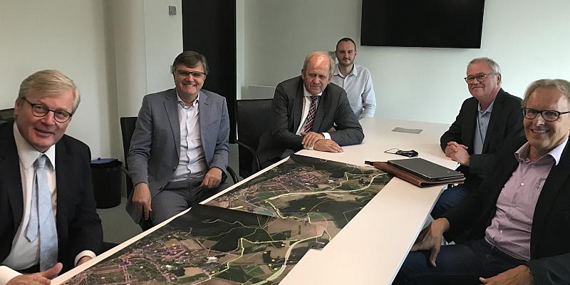 Minister Althusmann sichert Bürgerinitiative Westumgehung Unterstützung zu