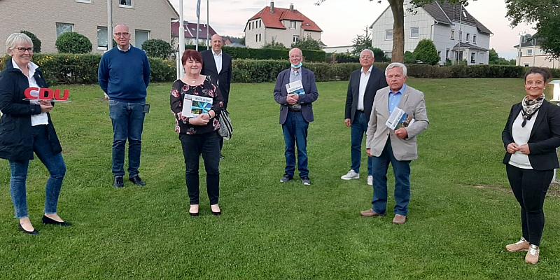Kreisparteitag der CDU in Stadtoldendorf: Parteitag fand unter strengen Hygienevorschriften im Haus am Eberbach statt