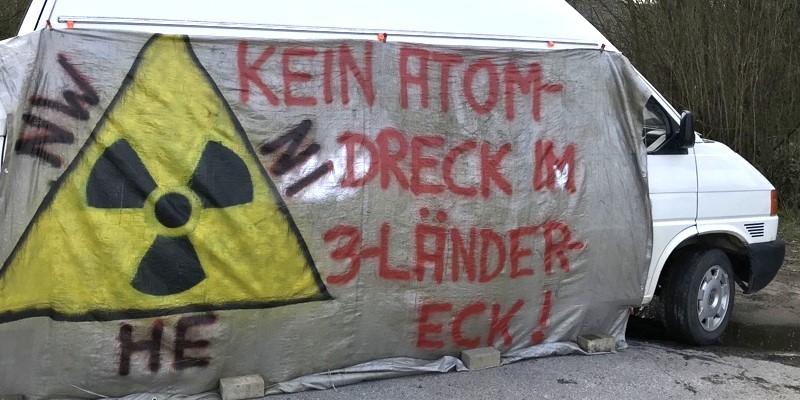 Autokorso gegen Atommülltransporte im Dreiländereck für Mittwoch über neue Weserbrücke geplant