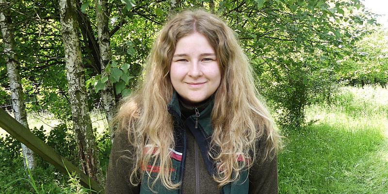 Theresa Albracht als neue Leiterin im WildparkHaus
