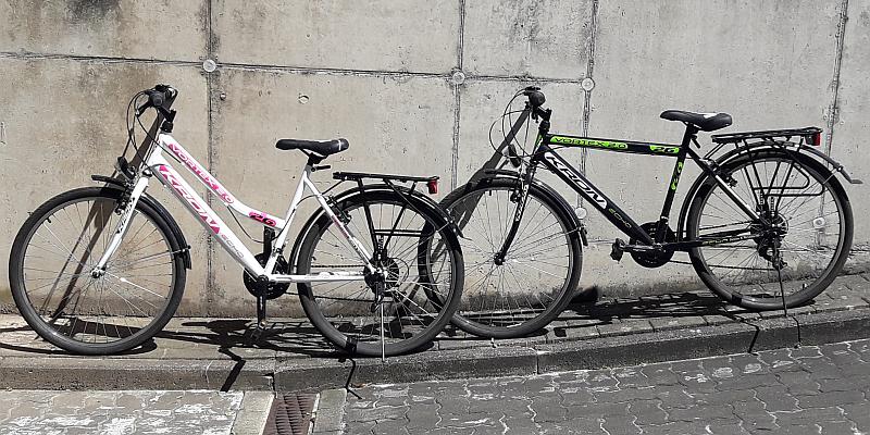 Polizei sucht Besitzer zweier Fahrräder