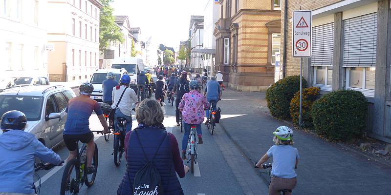 Fahrraddemo von Holzminden nach Bevern geplant