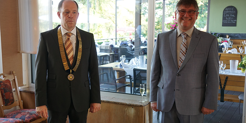 Ämterübergabe im Rotary Club Holzminden
