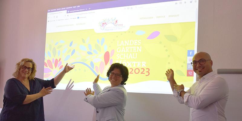 Landesgartenschau präsentiert eigene Internetseite