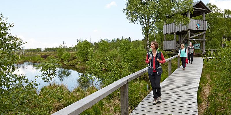 Solling-Vogler-Region im Weserbergland verspricht vielfältige Wandererlebnisse