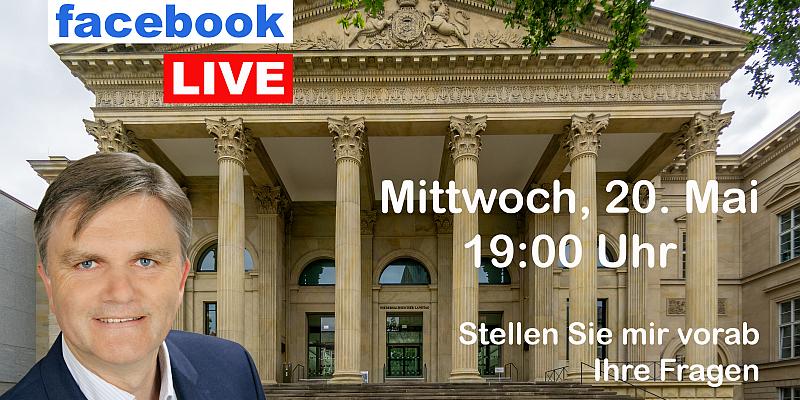 Landtagsstammtisch mit Uwe Schünemann am 20. Mai live im Internet