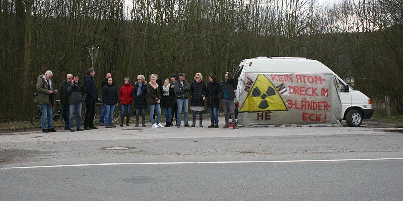 Widerstandsbewegung gegen die neuen Atompläne in Würgassen