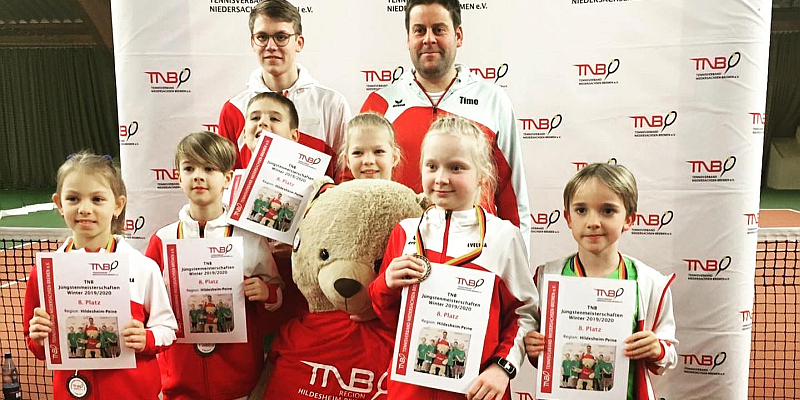 Tennis-Landesmeisterschaften der Jüngsten mit zwei Sportlern aus Holzminden
