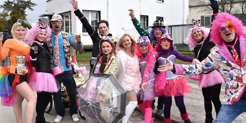 """""""Carneval ist farbenfroh, seit 44 Jahren ist das so"""""""