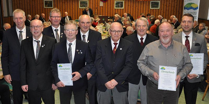 Vorstandszuwachs und 70 Jahre auf der Singbühne - Der Sollinger Sängerbund e.V. macht Mut zum Chorgesang