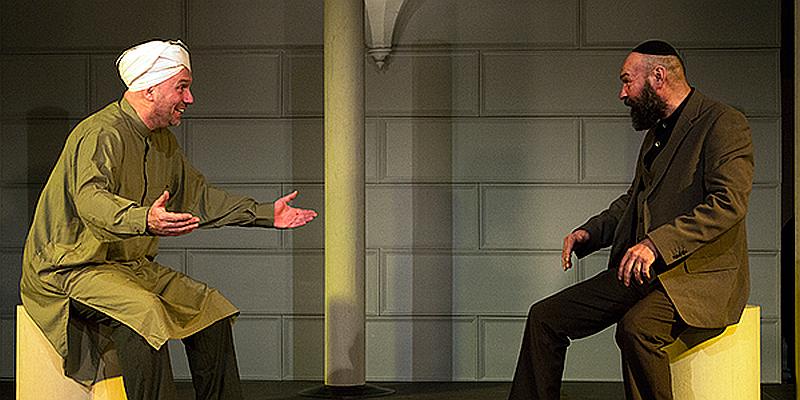 """""""Nathan der Weise"""" von Gotthold Ephraim Lessing in der Stadthalle Beverungen"""