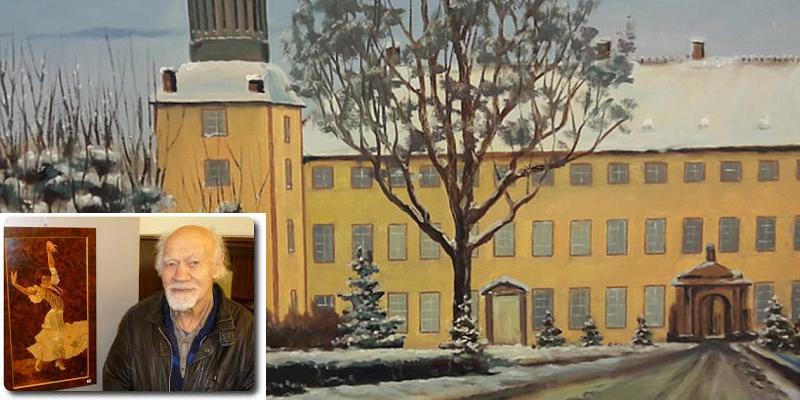 96-jähriger Künstler Hermann Fast stellt im Kunst (T) Raum Holzminden aus - Ausstellungseröffnung am 19. Januar