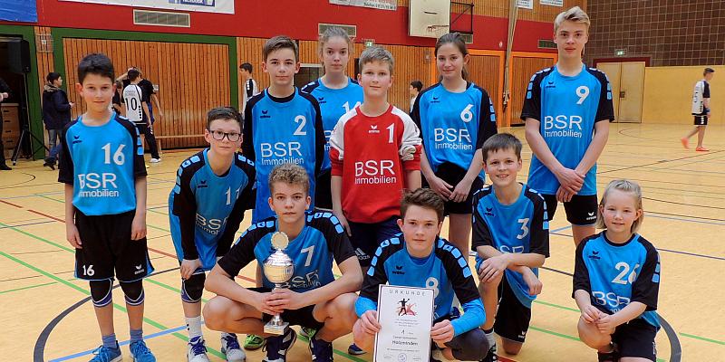 Pokalsieger: Campe Gymnasium gewinnt Handballturnier in Stadtoldendorf