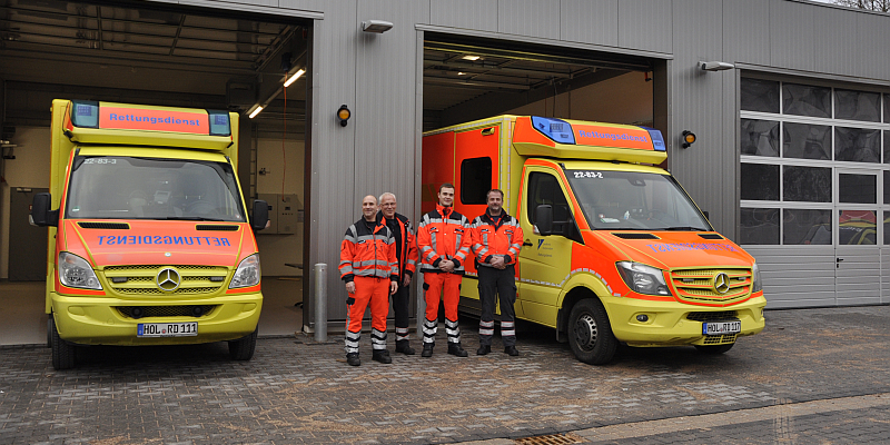 Neue Rettungswache in Stadtoldendorf geht in Betrieb - Interessierte können sich am Montagnachmittag ein Bild vom Neubau machen