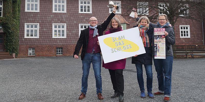 Das Casting ist eröffnet: SLAM DAS SCHLOSS! 2020 residiert im Internat Solling