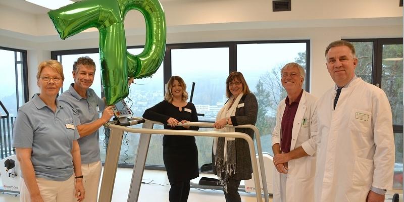 70 Jahre Weserbergland-Klinik in Höxter: Rehabilitation auf höchstem Niveau
