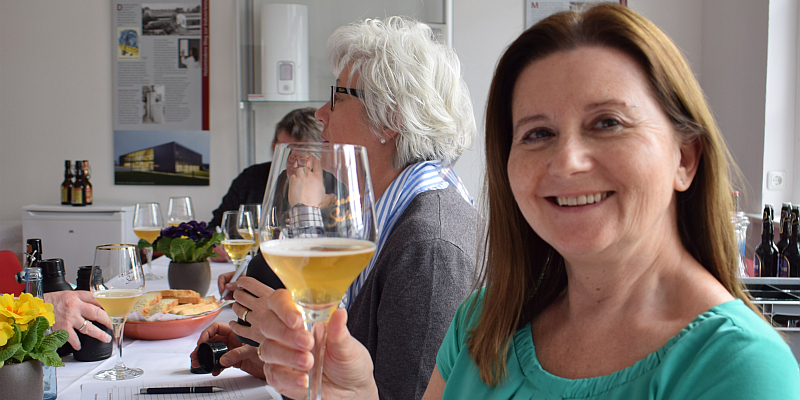 Das Gold des Weserberglandes mit allen Sinnen genießen: Bier-Aromen-Seminar der Brauerei Allersheim