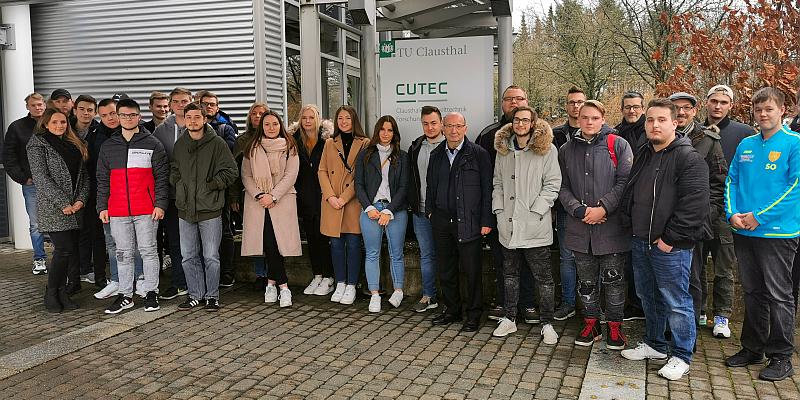 Von der Brennstoffzelle zum Bowling Pin: Azubi-Tag an der Universität Clausthal-Zellerfeld