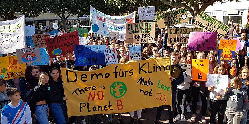 """Erneute Demonstration der """"Fridays for Future Holzminden"""" angekündigt"""
