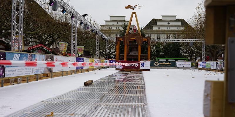Eisbahn jetzt wieder vollständig geöffnet