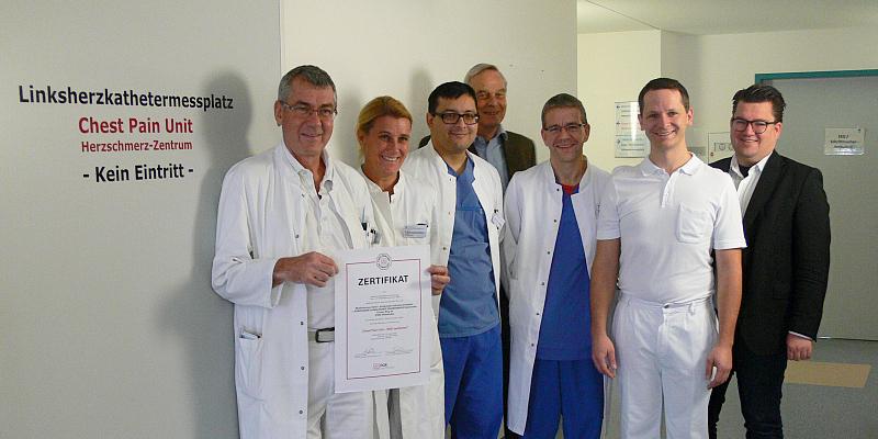 Agaplesion Evangelisches Krankenhaus Holzminden erhält 2. Re-Zertifizierung zur Chest-Pain-Unit (CPU)
