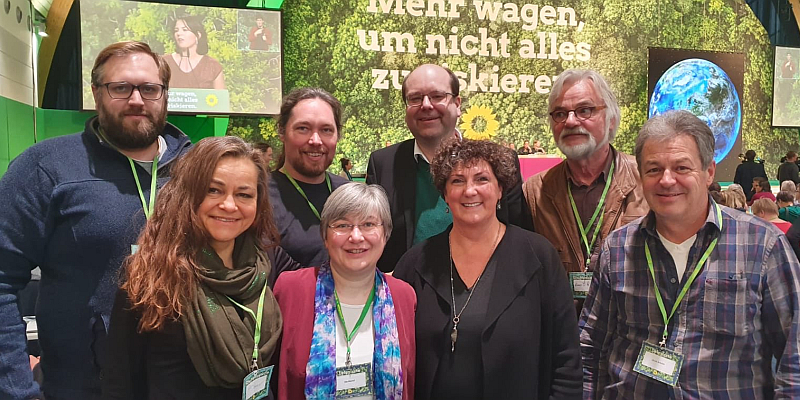 Christian Meyer in hohes Grünen Gremium in Berlin gewählt