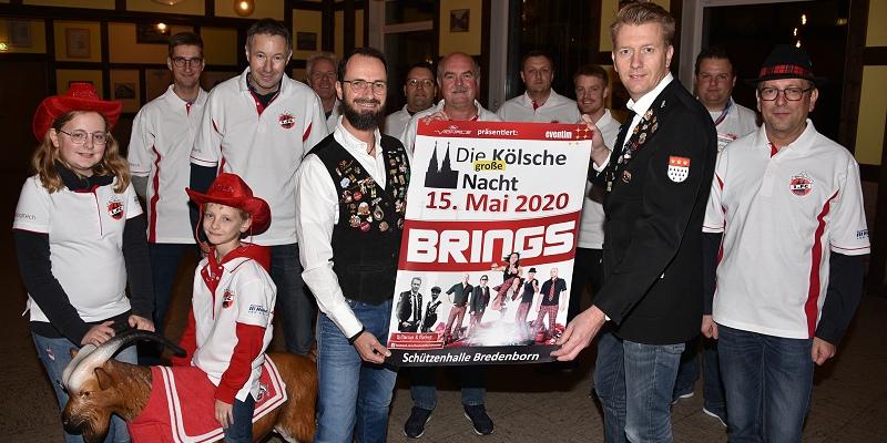 """Das """"Kölsche Lebensgefühl"""" hält wieder Einzug im Kreis Höxter mit Brings am 15. Mai 2020"""