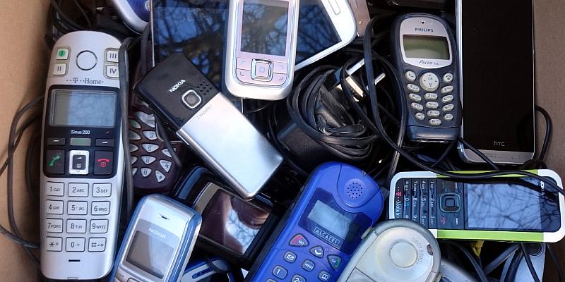 Der NABU sammelt weiter alte Smartphones für den Insektenschutz