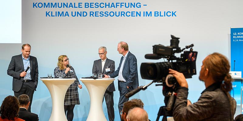 Landkreis Holzminden bei der Kommunalen Klimakonferenz in Berlin vertreten