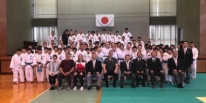 Svea Teßmer reiste mit der niedersächsischen U16 Auswahlmannschaft nach Japan