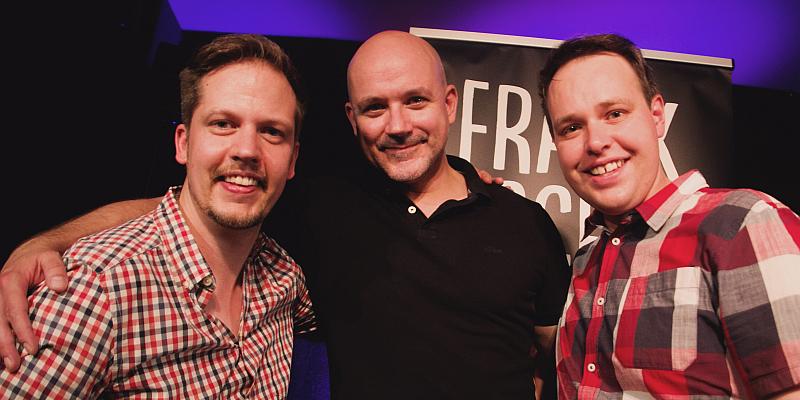 Comedy & Pasta – Comedian Frank Fischer gab sein Debüt im Zimmertheater Höxter