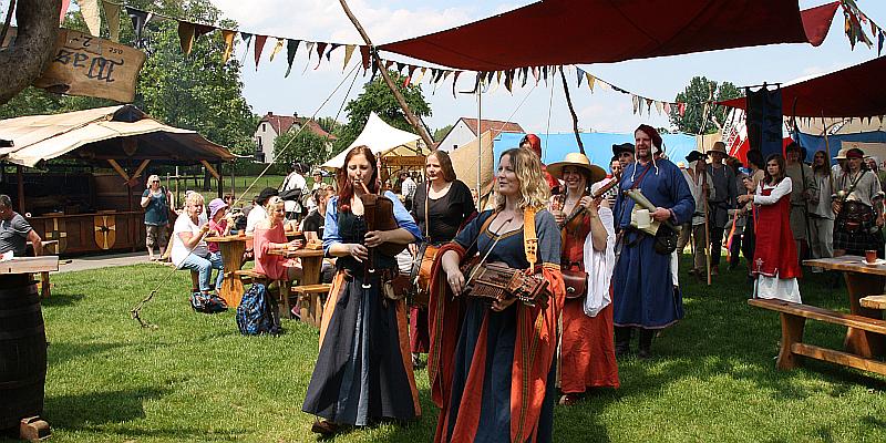 Das Mittelalter kehrt nach Lügde zurück - Liuhidi-Markt am 15. und 16. Juni in Lügde