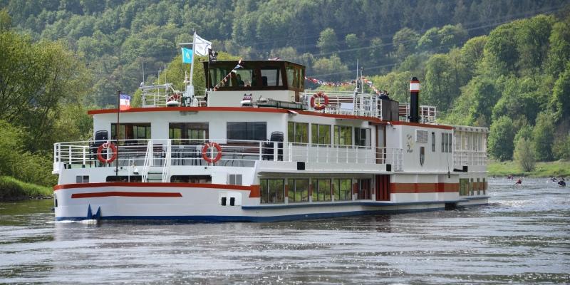 """Weserpegel rasant angestiegen: """"Flotte Weser"""" hat ihre Fahrgastschifffahrt eingestellt"""